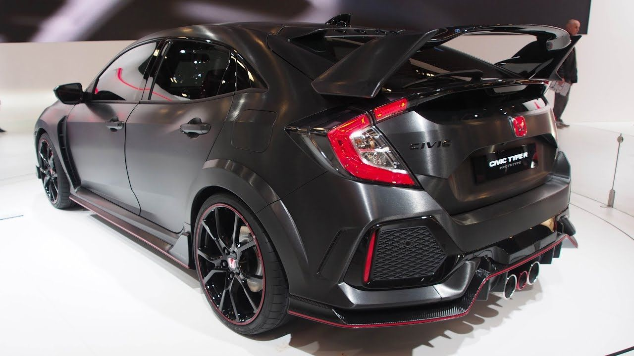 Honda Civic Type R Prototype Exterior Lookaround Honda Civic Honda Civic Type R Honda