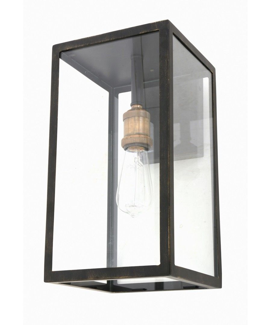 Southampton 1 Light Large Wall Bracket In Antique Black Exterior Light Fixtures Beacon Lighting Outside Light Fixtures