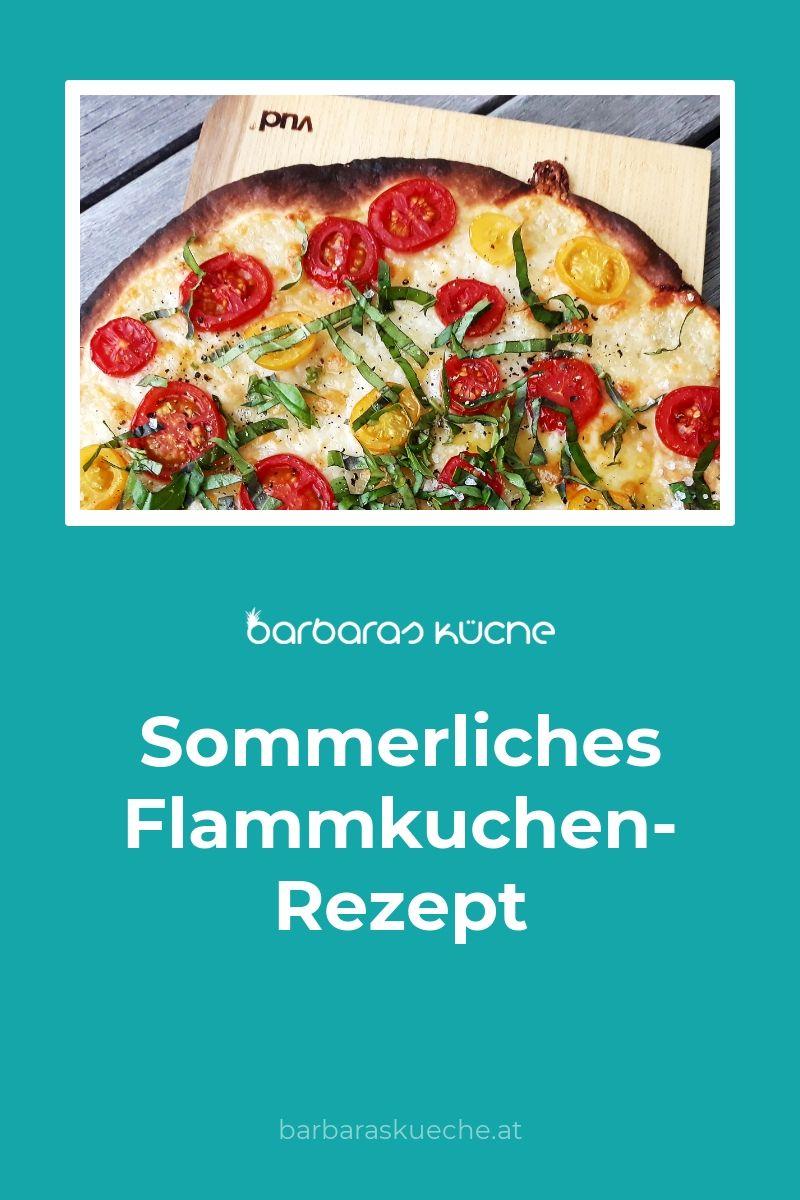 Sommerliches Flammkuchen-Rezept - Barbaras Küche in 15  Rezepte