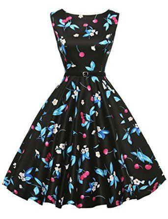 GRACE KARIN®Yafex Women\'s 50s Vintage Hepburn Swing Dresses 30Colors ...
