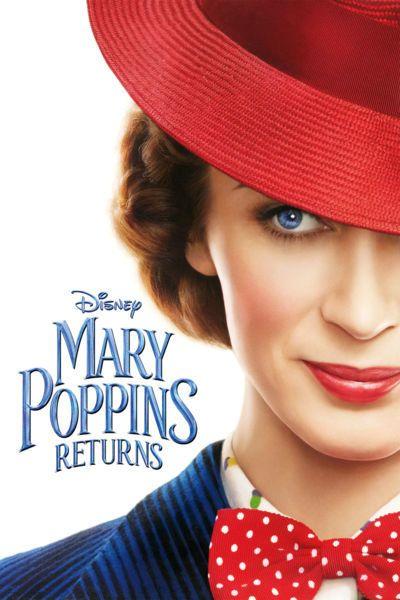 Mary Poppins Returns [Movies Anywhere HD, Vudu HD or iTunes HD via