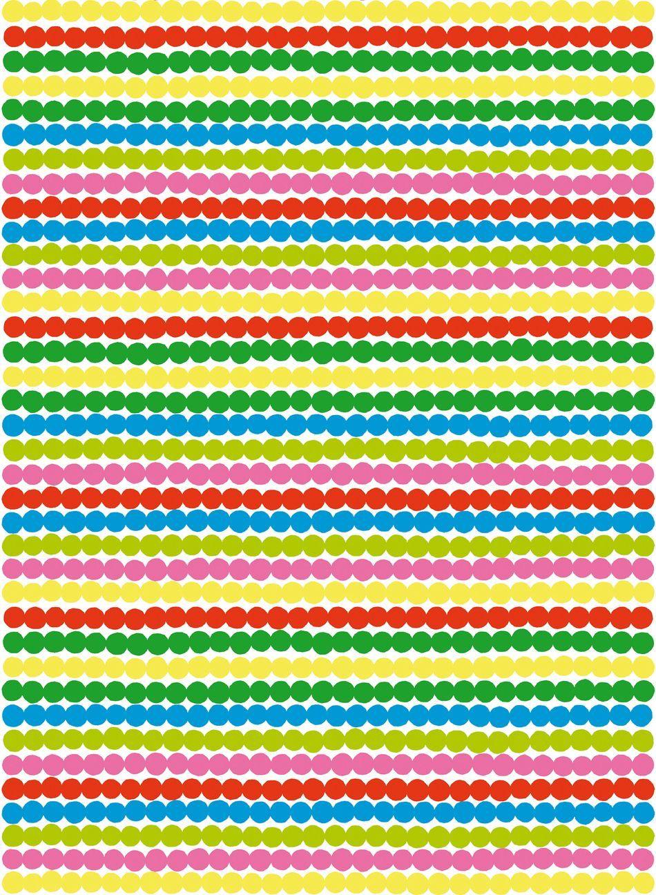 Räsymatto - paksu puuvilla (valkoinen, punainen, vihreä)