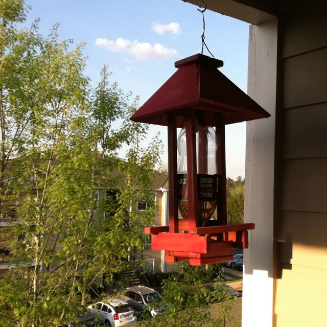 My new bird feeder! $15 at Angels Antiques!