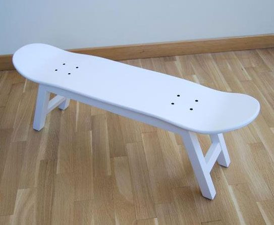 Brilliant Foot Stool Skate Skateboard Furniture Furniture Design Machost Co Dining Chair Design Ideas Machostcouk