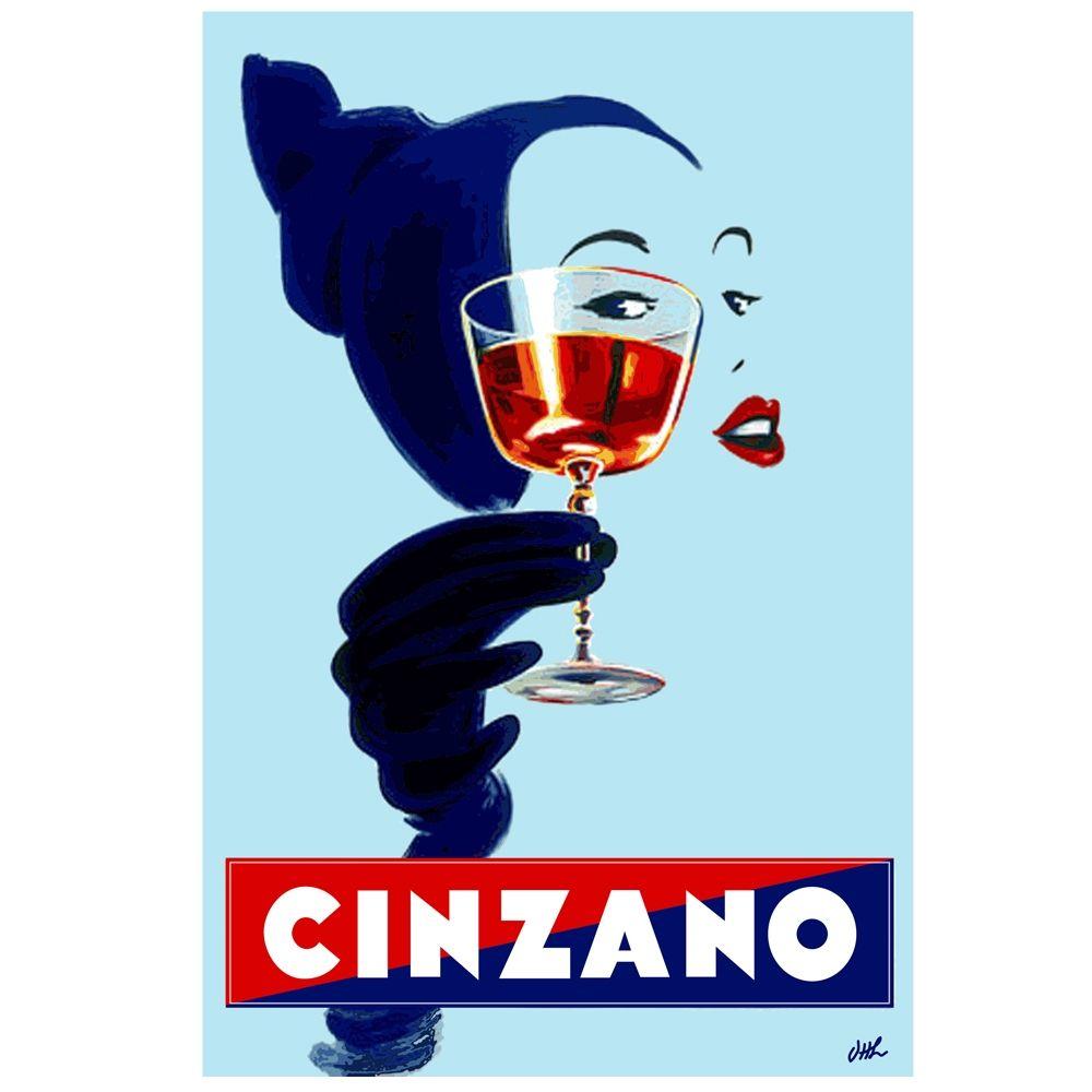 Cinzano Aperitif vintage poster | Pinterest | Aperitif and Vintage ...
