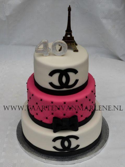 prada taart Coco Chanel taart. | Chanel dior prada. . | Pinterest  prada taart