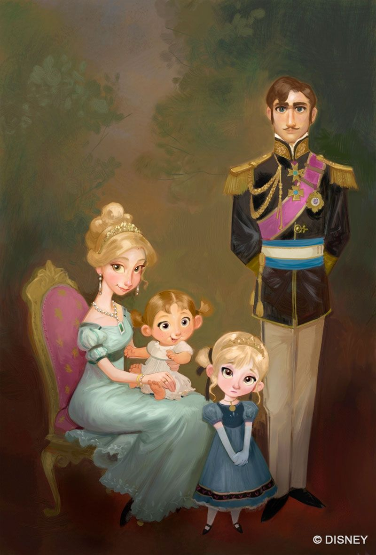 La reine des neiges the art of disney personnage - Disney reine des neige ...