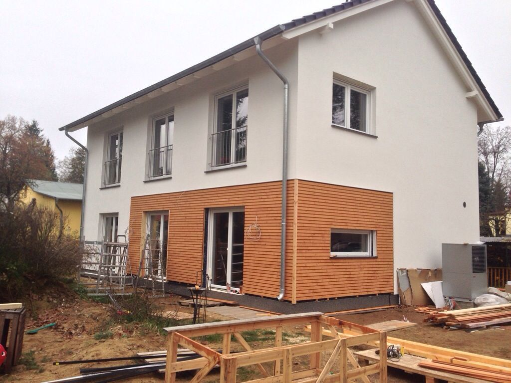 Holzfassade südeseite