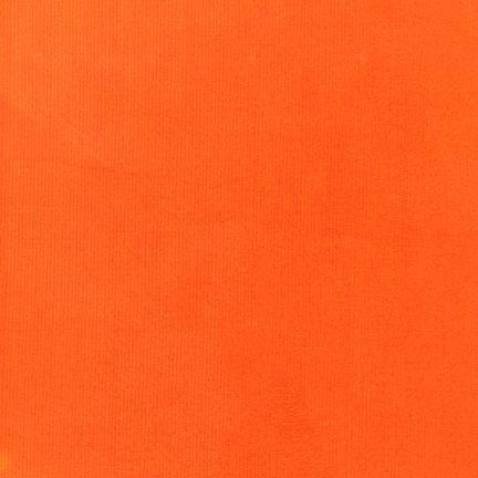 Hunter Orange Corduroy Cotton Fabric 21 Wale By Nsewfabrics 7 99