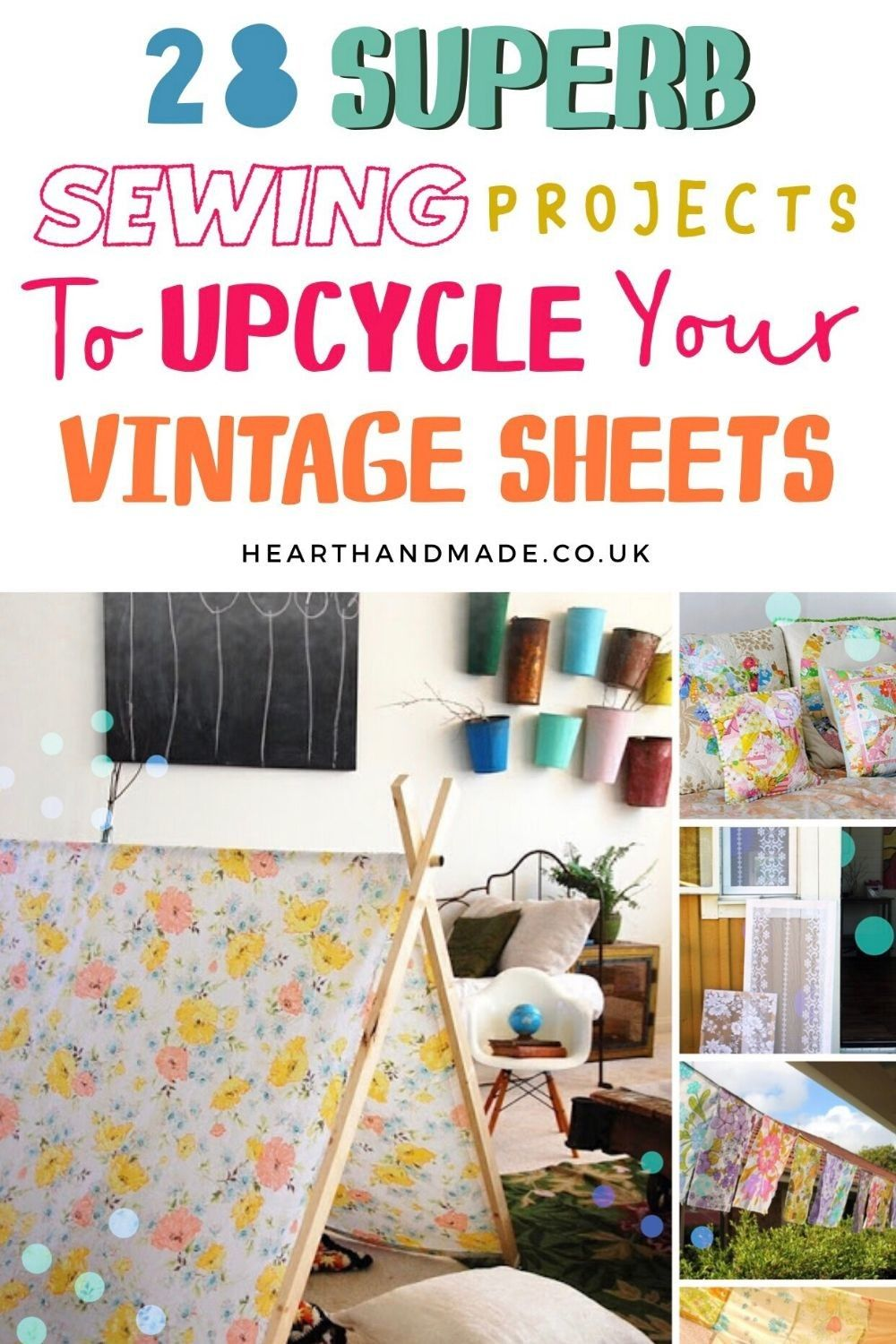 Have You Made Something Amazing With Vintage Sheets Vintage