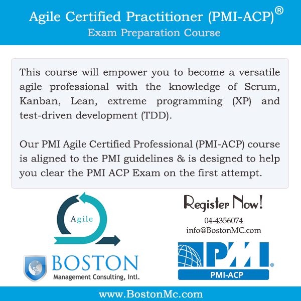 PMI-ACP Certification Exam Preparation Training Course Dubai UAE