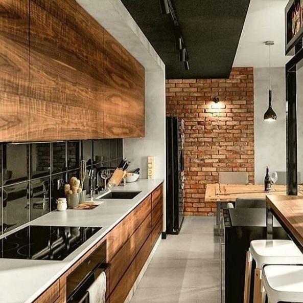 Photo of Interior design della cucina
