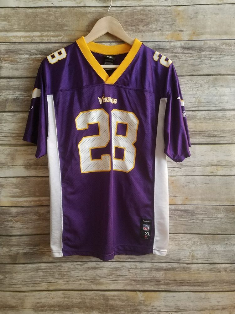 adrian peterson youth medium jersey