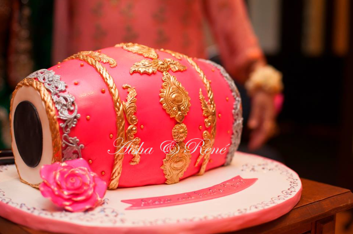 Dholki Cake Henna Party Mehndi Pakistani My Future