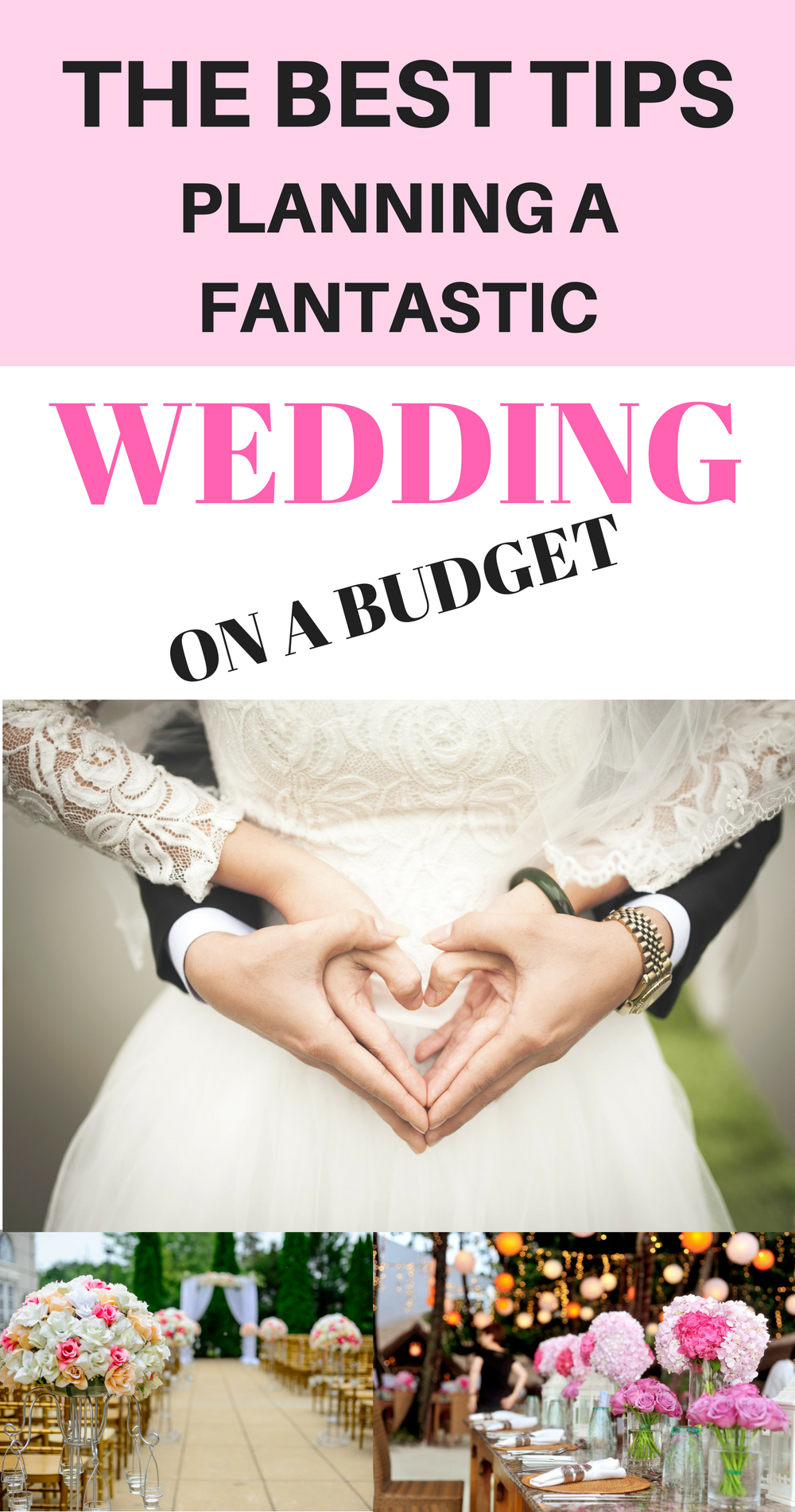 All the Best Tips on Planning a Fantastic Wedding for Cheap