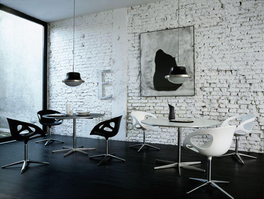 Fritzhansen rin chair kunststof stoel eetkamerstoel