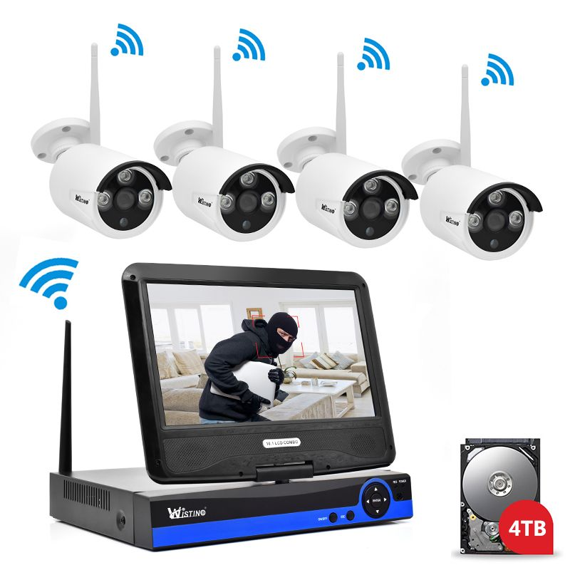 Find More Surveillance System Information About Wistino 960p Cctv System Kit Wire Home Security Systems Wireless Home Security Systems Wireless Security System