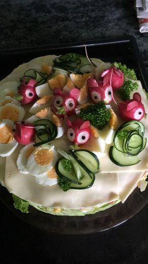 Party - Salattorte von Paradiesabbel | Chefkoch #repasdefete
