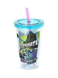 HOTTOPIC.COM - Doctor Who 18 oz. Acrylic Travel Cup