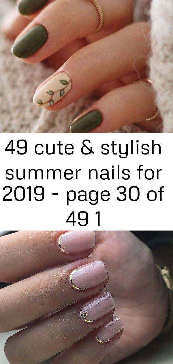 49 leuke en stijlvolle zomernagels voor 2019 – pagina 30 van 49 1