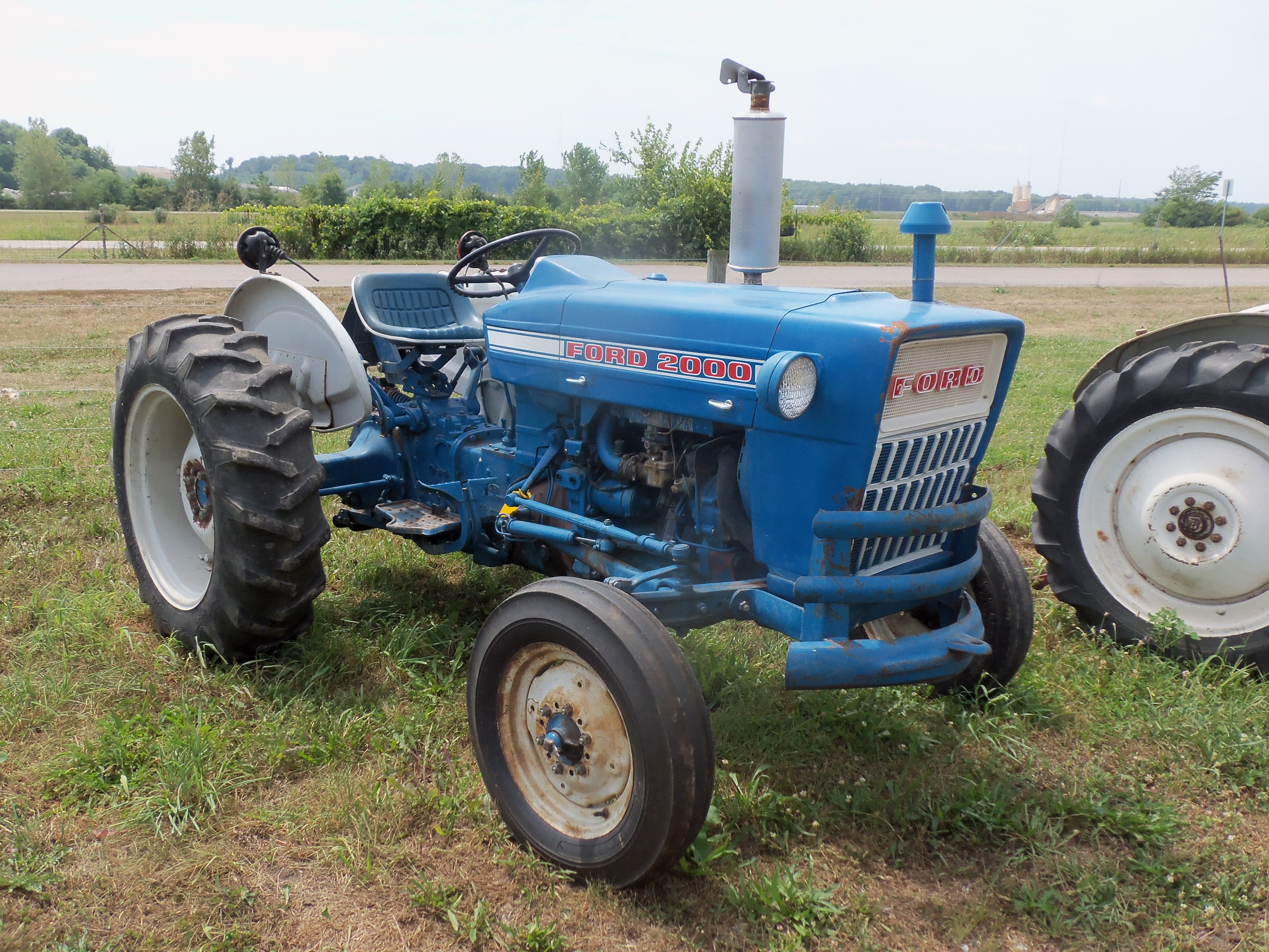 1963 Ford Tractor Model 2000 : Ford tractors equipment pinterest