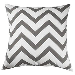 LHWY Home Car Bed Sofa Decorative Wavy Patterns Pillow Case Cushion Cover (Grey): Amazon.co.uk: Kitchen & Home
