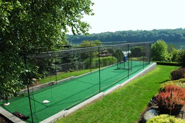 Delicieux How To Build A Batting Cage Frame Want This In My Backyard