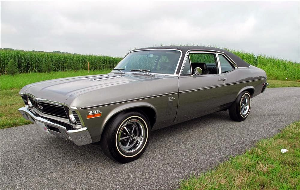 silver-chevy-nova-ss-muscle-car | hot rodz | muscle cars, cars
