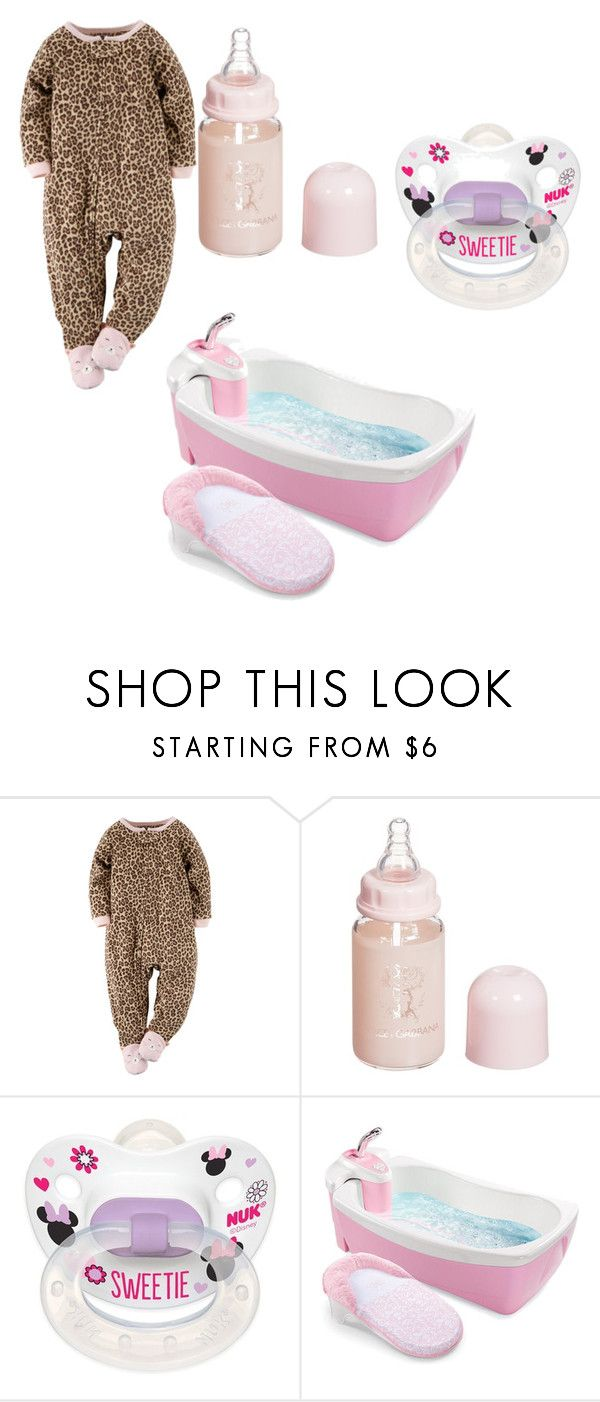 """""""Goodnight To My Neice!!"""" by mynameisyaya ❤ liked on Polyvore featuring Dolce&Gabbana, Disney, Summer Infant, women's clothing, women, female, woman, misses and juniors"""