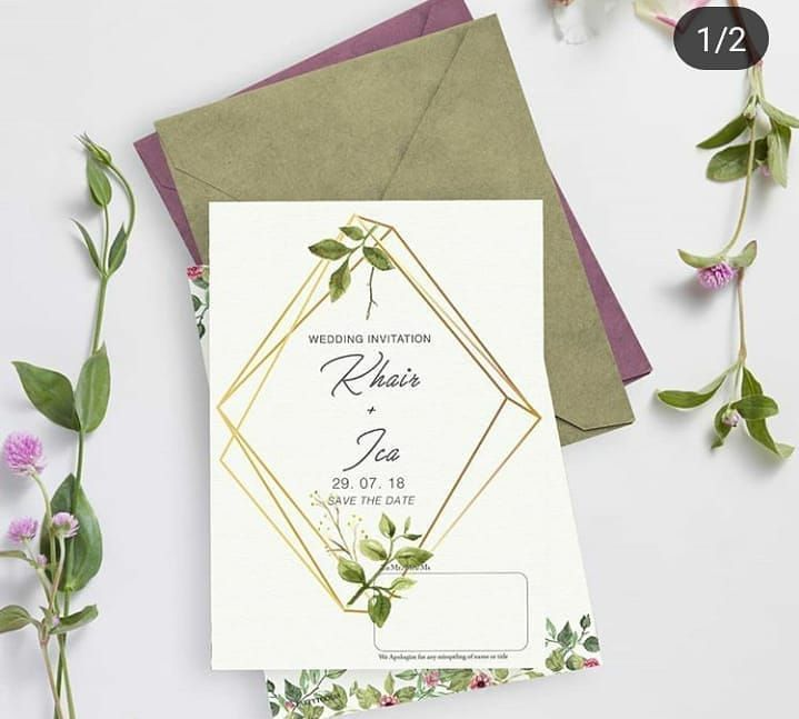 Great Images Jogja wedding invitations can be sent to all over Indonesia guaranteed mandate  Open t  Suggestions Wedding Invitation CardsOur Recommendations When the date...