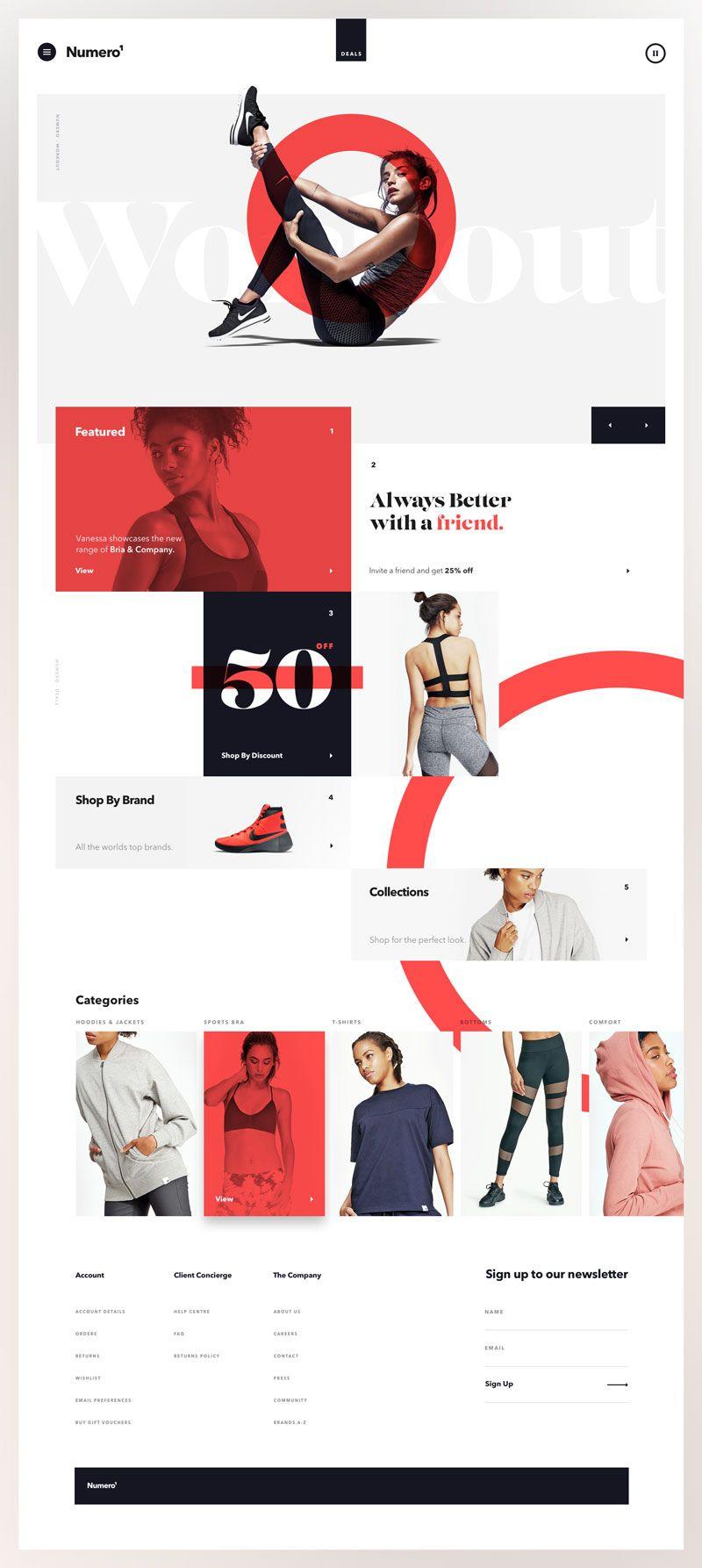 Best Website Design Inspiration For Products Fun Website Design Website Design Layout Web Layout Design