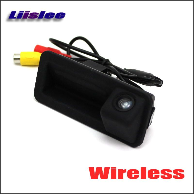 HD Back Up Reverse Camera For Land Rover Range Rover / Freelander 2 II / Wireless Car Rear View Camera / Trunk Handle