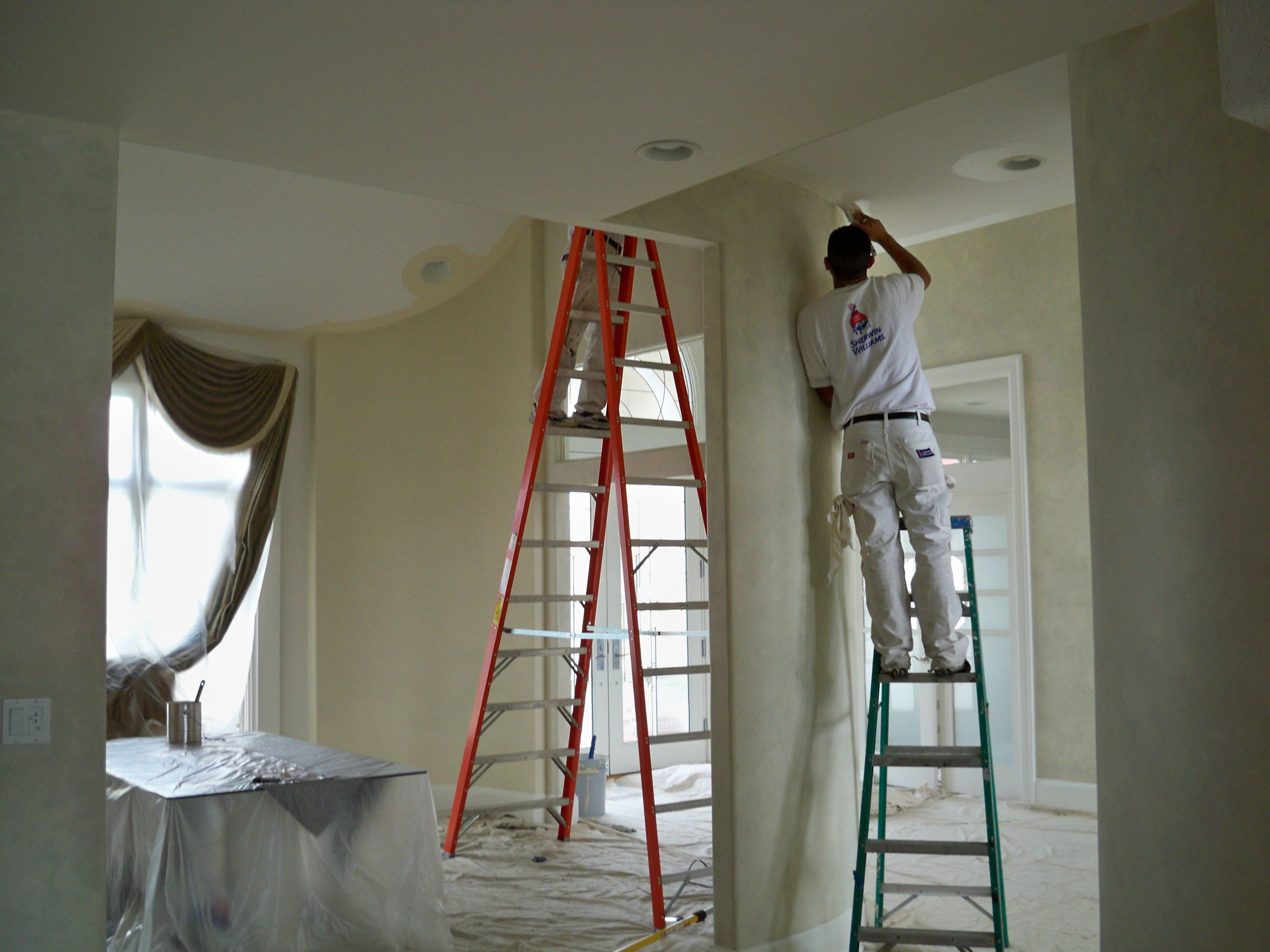 People painting houses - House Painters Painting We Listen To Our Customers And Make Sure They Receive Exactly What They