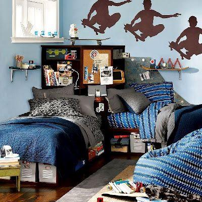 11 dormitorios juveniles para varones activos habitacion - Dormitorios infantiles tematicos ...