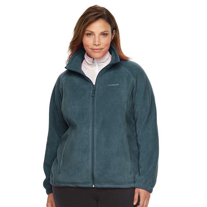 7ddedeb92fe Plus Size Columbia Three Lakes Fleece Jacket