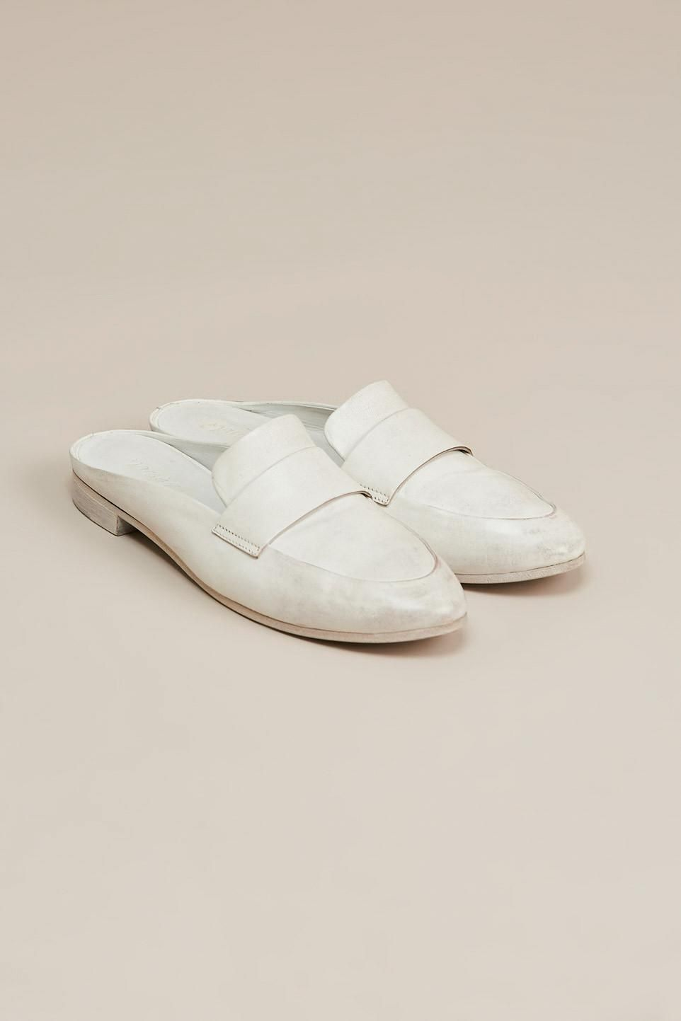 Colteldino loafer slide, White