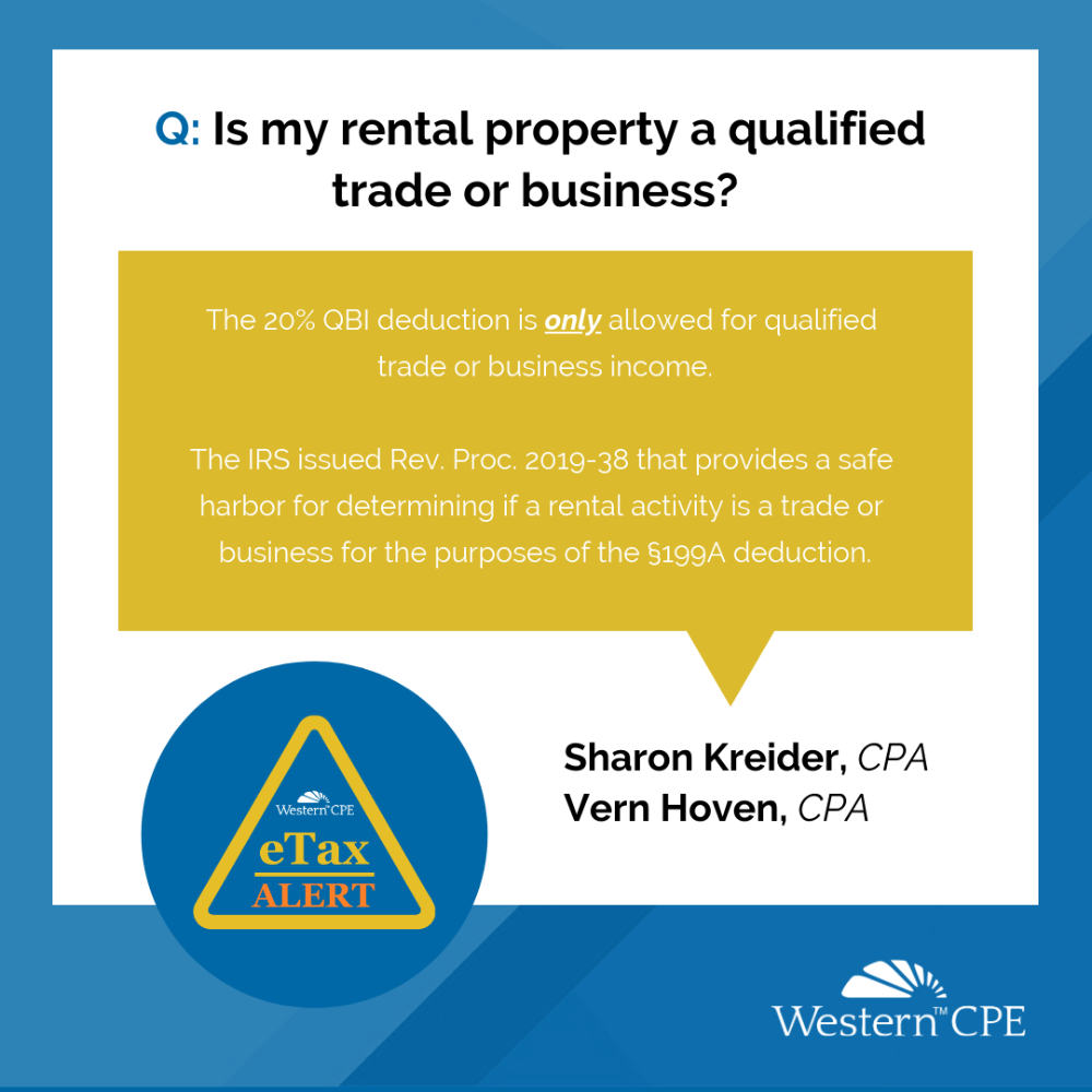 Is My Rental Property a Qualified Trade or Business? (With