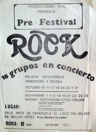 1980 con Ictus: mi primer concierto