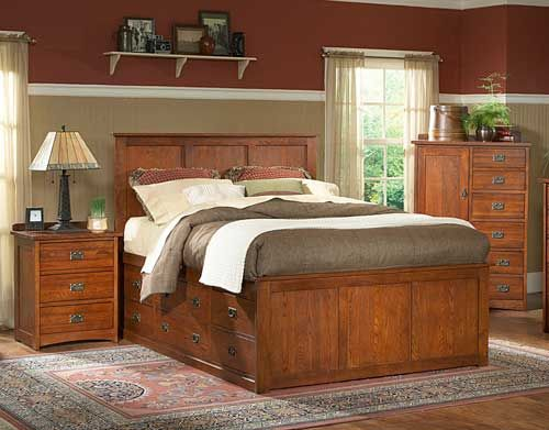 Mastercraft Bedroom  Praire Mission Collection Bedroom  Puritan Furniture  West Hartford, Wethersfield CT.