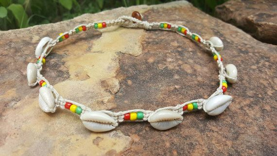 Check out this item in my Etsy shop https://www.etsy.com/listing/457049384/cowrie-shell-choker-hemp-necklace-rasta
