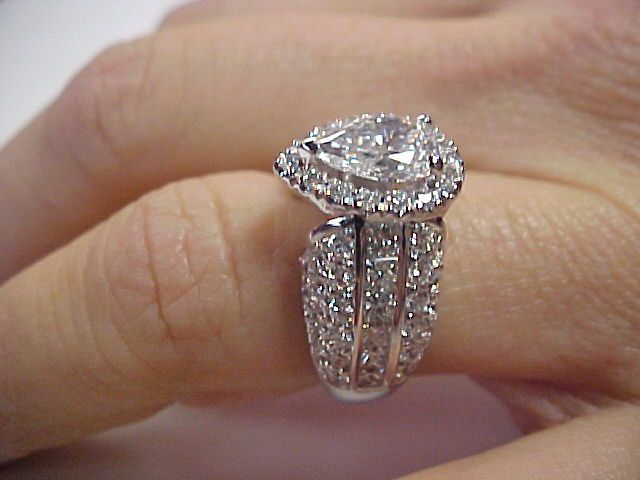 michael for just rings diamond engagement stunning teardrop hill something different