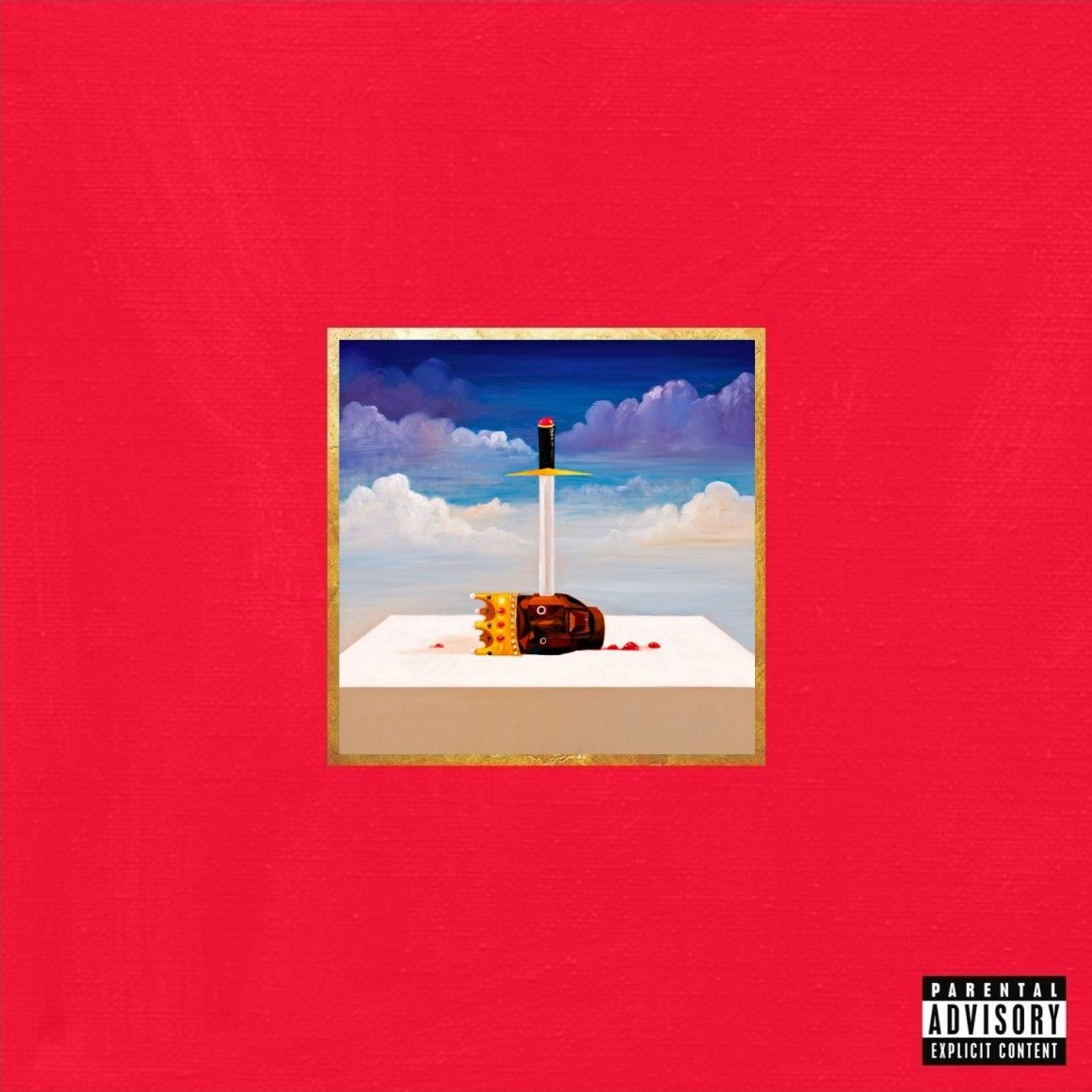 Mbdtf Cover 1160x1160 Jpg 1160 1160 Beautiful Dark Twisted Fantasy Kanye West Album Cover George Condo