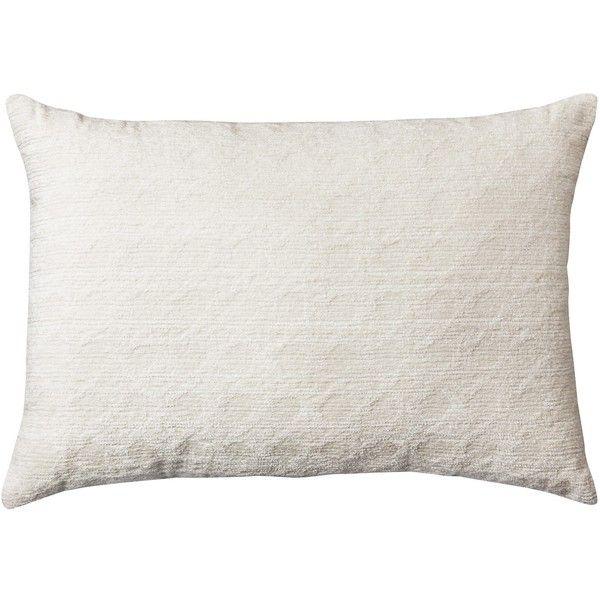 Cane Chenille Lumbar Throw Pillow