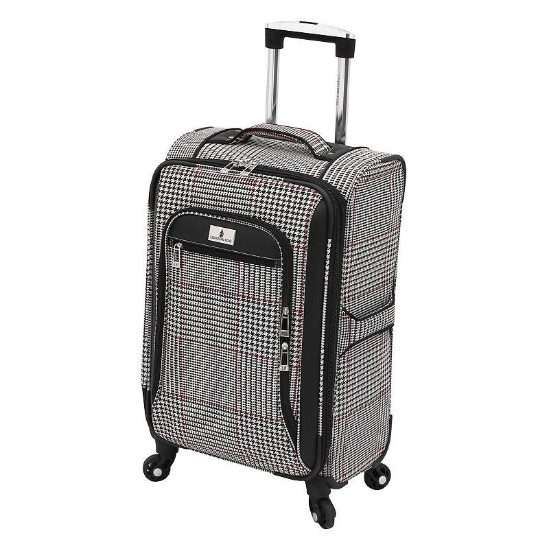 London Fog Andover 21-Inch Spinner Carry-On, Multicolor