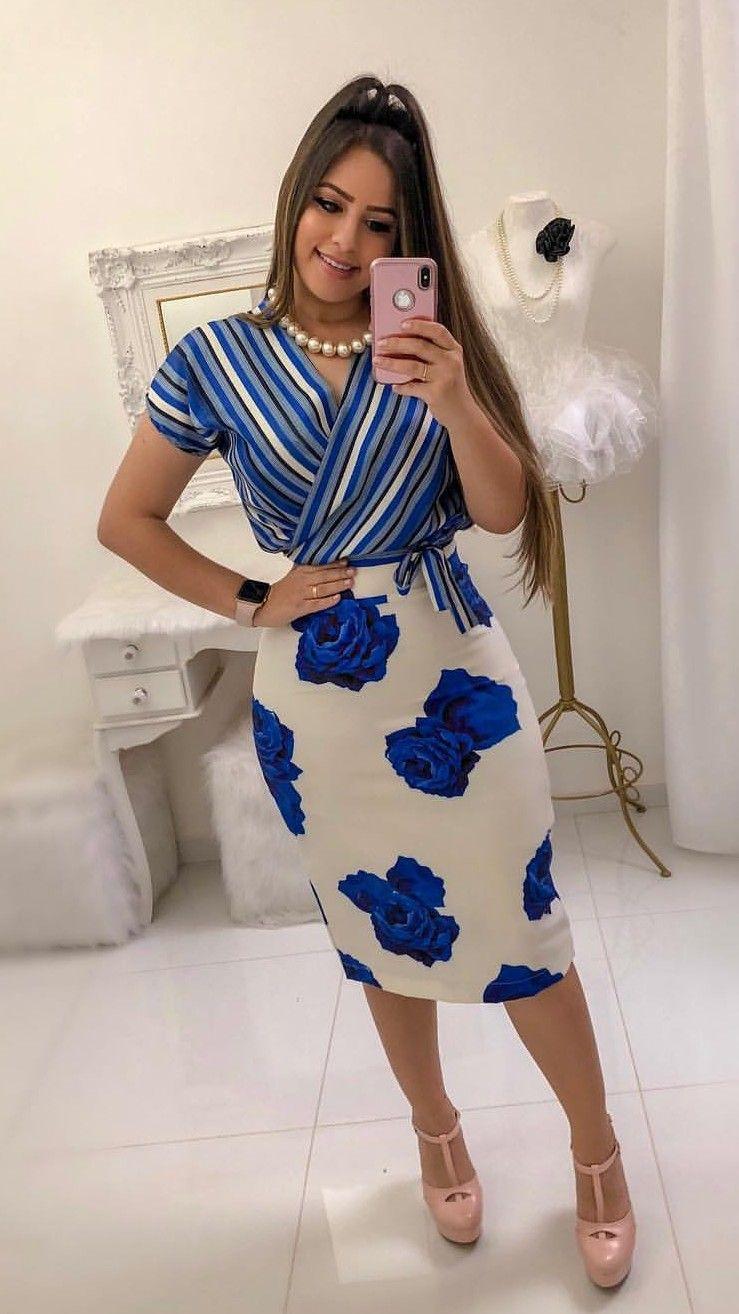 609c6a8a1 Saia conjunto lindo | Outfit em 2019 | Fashion dresses, Dresses e ...