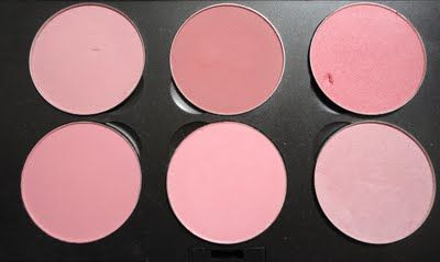5bdc0872 Pink MAC Blush Palette TOP: Dame, Desert Rose, Dollymix BOTTOM: Pinch O'  Peach, Pink Swoon, Well Dressed
