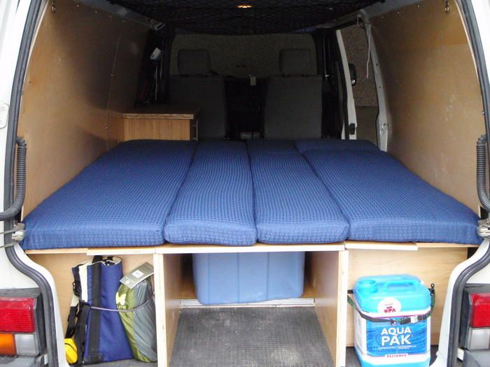 t4 bett ausbau bus pinterest suv camping sprinter. Black Bedroom Furniture Sets. Home Design Ideas