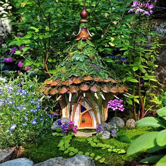 12 Fabulous Fairy Gardens, Minus The Creepy Fairy Figurines
