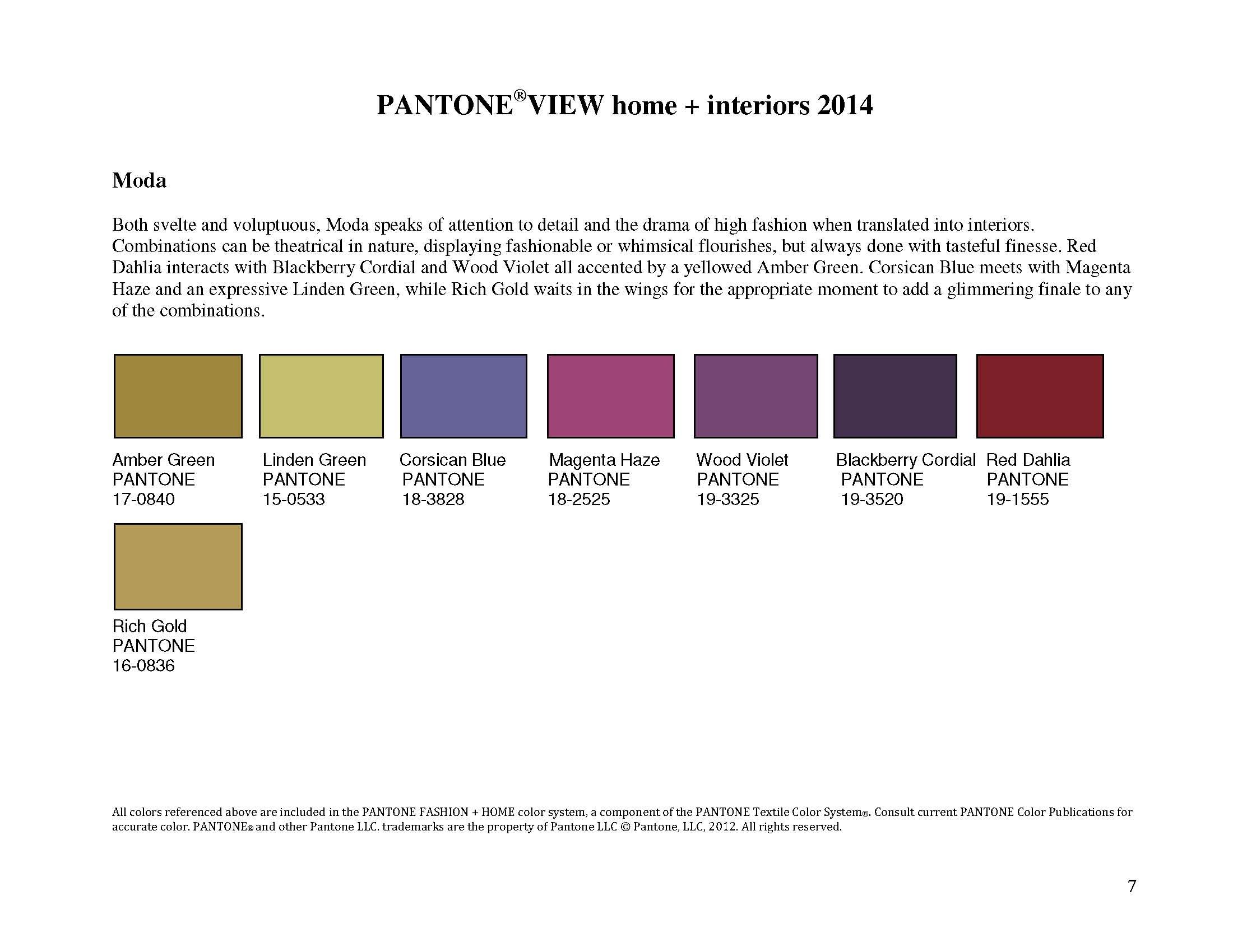 color trends 2014 interiors pantone commercial trends 2014