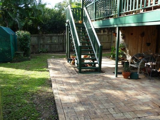 This is an after shot of one of our garden clean ups that need a bit of work.